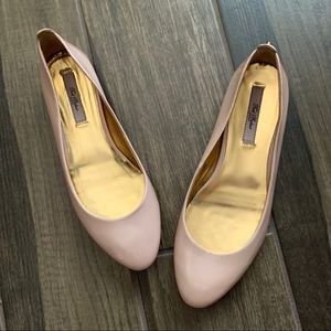 Ted Baker London Carum Pink Leather Flats Sz 6.5